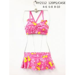 120 of Girls 2pc Swim Set