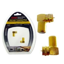 96 of Right Angle F Connector 2 Pcs