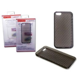 "144 of Iphone 5 Cover 2.4"" X5.7"" Clear ,black Clr"