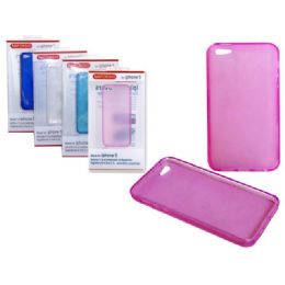 "144 of Iphone 5 Tpu Cover 2.4"" X5"" Black,red,pink Clr"