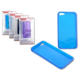 "144 of Iphone 5 Tpu Cover 2.4"" X5"" Gray,blue,white,clr"