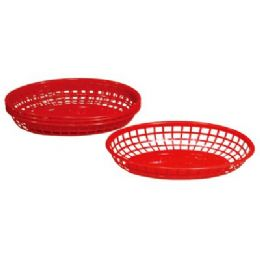 """48 of 4 Pack Oval Baskets 9""""x5.625""""x2"""""""