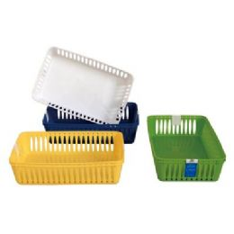 "48 of 2 Pack Multi Purpose Baskets 10""x6.2""x2.5"""