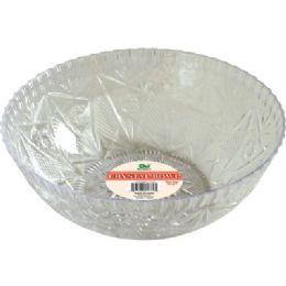 """48 of Crystal Bowl 150 Oz 11""""diameter."""