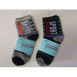288 of Sock Boy 2pk/set 4asst Color