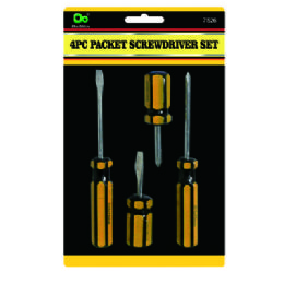 48 of 4pc Packet Screwdriver Set