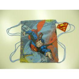 60 of Lic Backbag W/string Superman