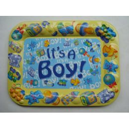 48 of Tray Rect It's A Boy 41.5/31.5