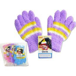 288 of Kids' Fuzzy Gloves, 18g