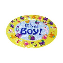 48 of Tray Oval Baby Shower Boy