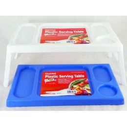 36 of 2 Plastic Serving Trays