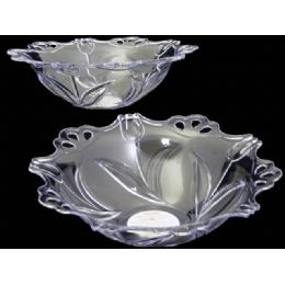 48 of Round Crystal Bowl