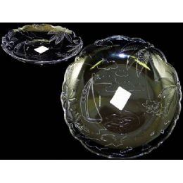48 of Round Crystal Tray