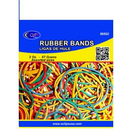 96 of Rubber BandS- Assorted Colors