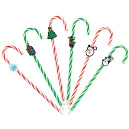72 of Candy Cane Pen With Charm And Scented Ink