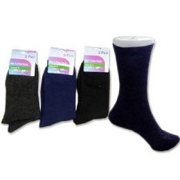 288 of Sock Dress 2 Pairs 3asst Clrblack,navy,grey Clr