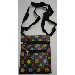 72 of Small CrosS-Body Hand Bag [black With Prints]