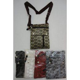 72 of Small CrosS-Body Hand Bag [geometric Lines]