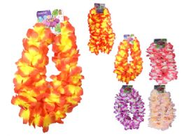 96 of 2 Piece Hawaii Flower Lei