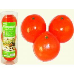 24 of Orange 3pc/pk 8.5cm In Contain