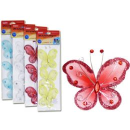 144 of Silk Butterfly Magnets