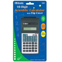 48 of Bazic 10-Digit Scientific Calculator W/ Flip Cover