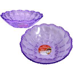 48 of Crystal Like Round Bowl Purple