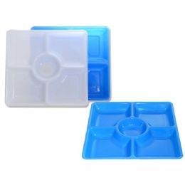 72 of 5 Section Square Serving Tray