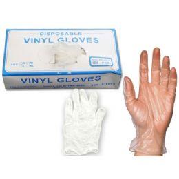 20 of Gloves 100pc Vinyl W/box