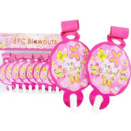 144 of Blowout 8pc Butterfly Design