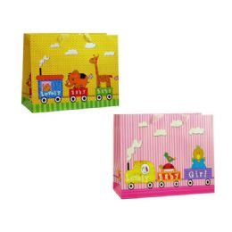 """144 of Gift Bag Rect. Baby9.8x4.33x7.5"""""""