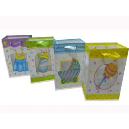 144 of Gift Baby Bag M W/ribbon23x18x10cm