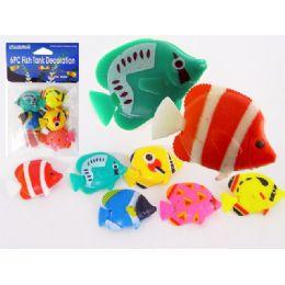 144 of Fish Decoration 6pc/pk Asst