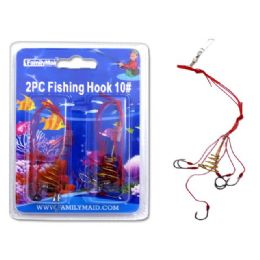 144 of Fishing Hook 2pc 10#