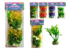 144 of 6 Piece Fish Tank Tree Decoration