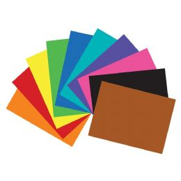 "100 of 22"" X 28"" Assorted Color Poster Board"