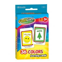 48 of Bazic Colors Preschool Flash Cards (36/pack)