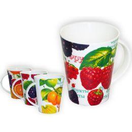 """36 of Mug Fruit 3.4diax4.3""""h"""