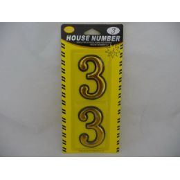 144 of House Number 2pcs In Card