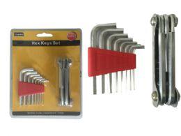 72 of 14pc Multipurpose Hex Keys Set