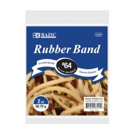 72 of Bazic 2 Oz./ 56.70 G #64 Rubber Bands