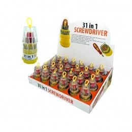 72 of 31 In 1 Screwdriver Set On Counter Display