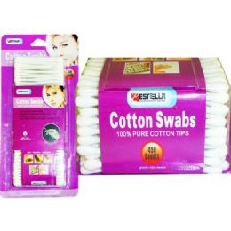 72 of COTTON SWAB 450 COUNT ESTELLA