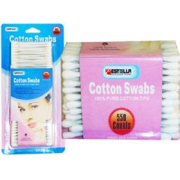 60 of 550 Piece Cotton Swabs