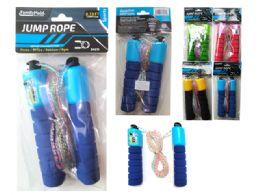 144 of Jump Rope 2.66m Long W/handlepink,green,blue,yellow Clr