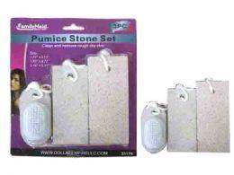 72 of 3 Piece Pumice Stone With Scrub