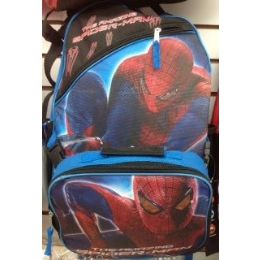 24 of Spiderman Backpack With Insulated Lunch Box Cooler
