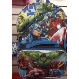 24 of Hulk Backpack With Insulated Lunch Box Cooler
