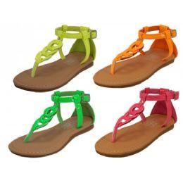 24 of Children Neon Colors Sandals
