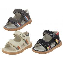 24 of Boy's Velcro Sandals